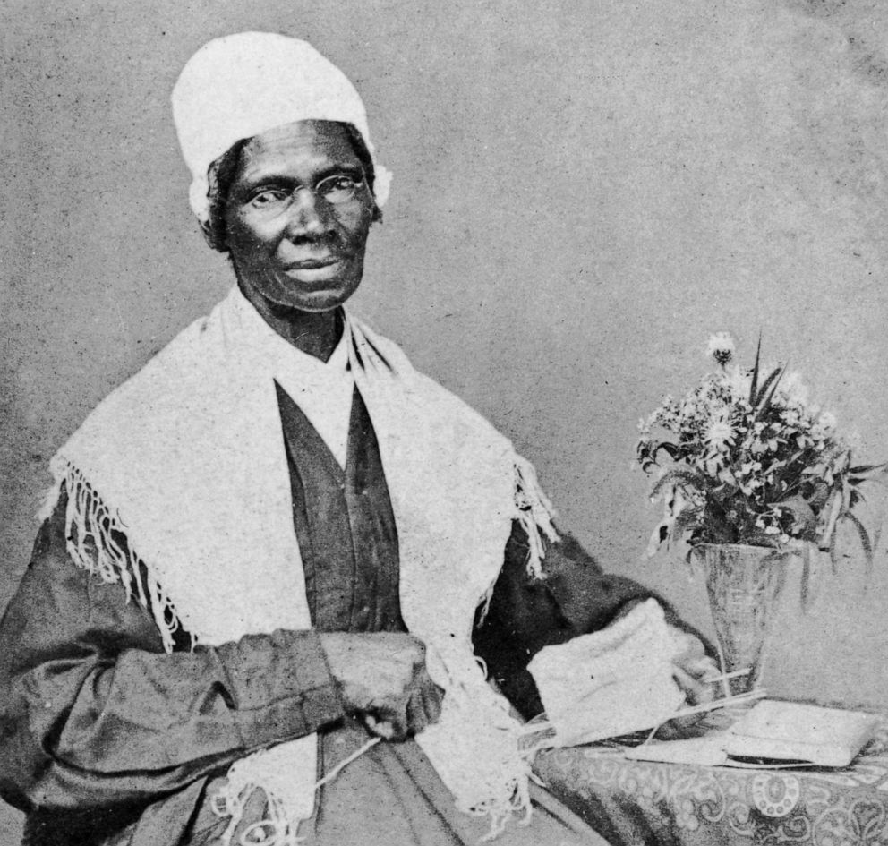 PHOTO: Portrait of American abolitionist and feminist Sojourner Truth (1797 - 1883), a former slave who advocated emancipation, c. 1880.