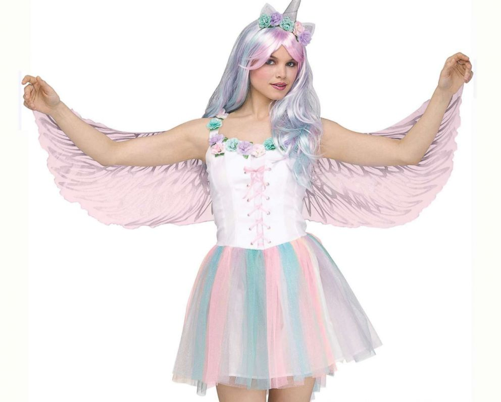 PHOTO: The Adult Sparking Unicorn Costume is available for $49.99