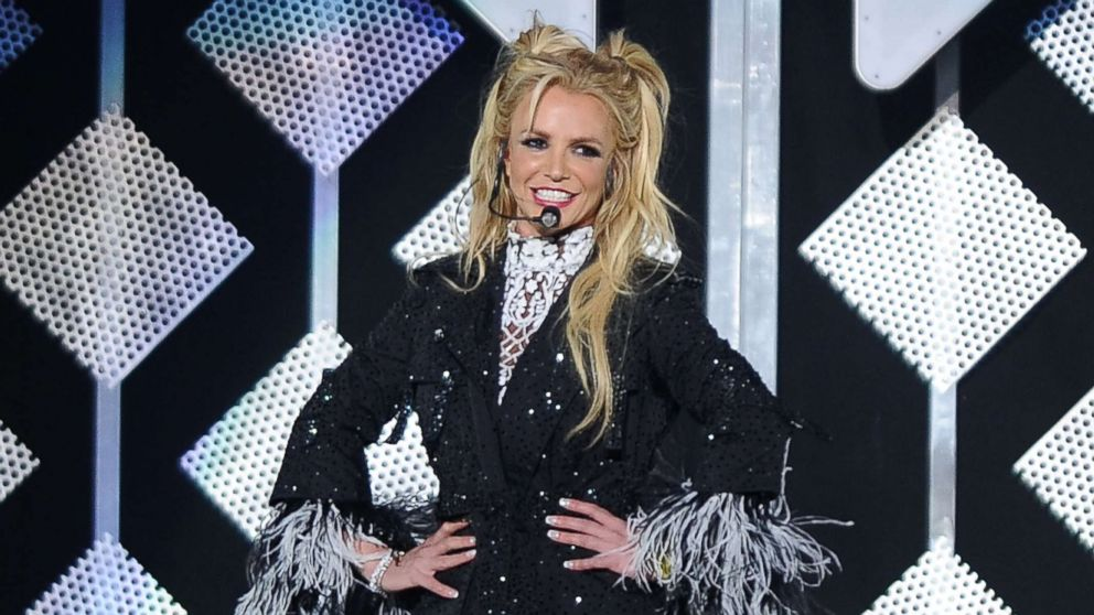 Britney Spears performs at 102.7 KIIS FM's Jingle Ball 2016 at Staples Center, Dec. 2, 2016, in Los Angeles.