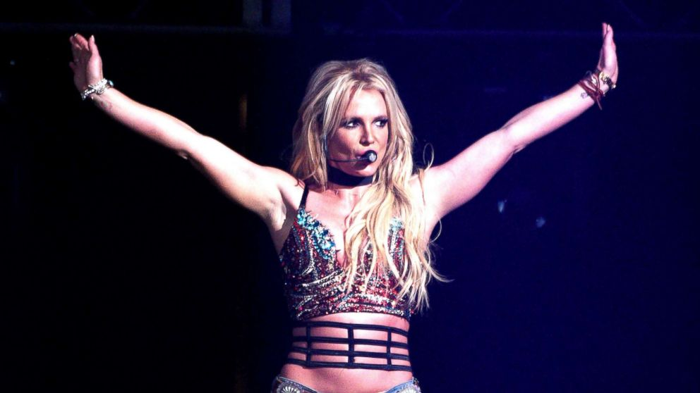 Britney Spears performs during the Now! 99.7 Triple Ho Show 7.0 at SAP Center, Dec. 3, 2016, in San Jose, Calif.