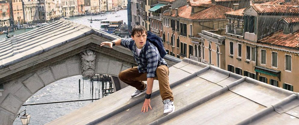 """PHOTO: Tom Holland, as Peter Parker, in a scene from """"Spider-Man: Far From Home."""""""