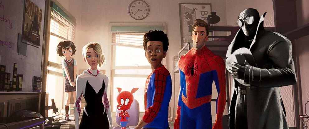 "PHOTO: A scene from ""Spider-Man: Into the Spider-Verse."""