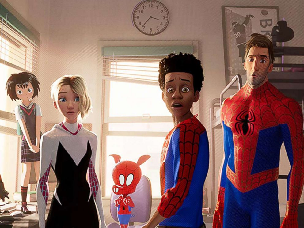 PHOTO: A scene from Spider-Man: Into the Spider-Verse.