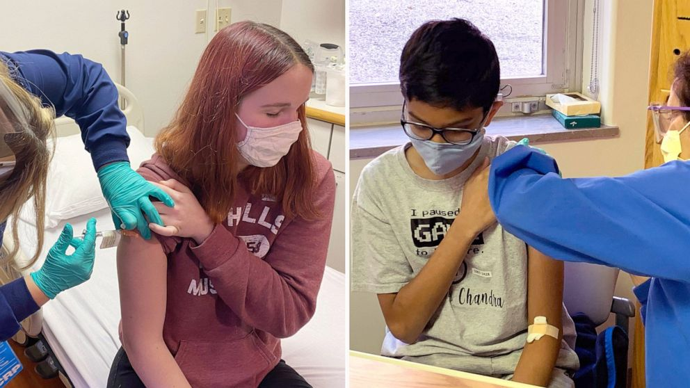 Meet the young people helping make sure a COVID-19 vaccine is safe for kids