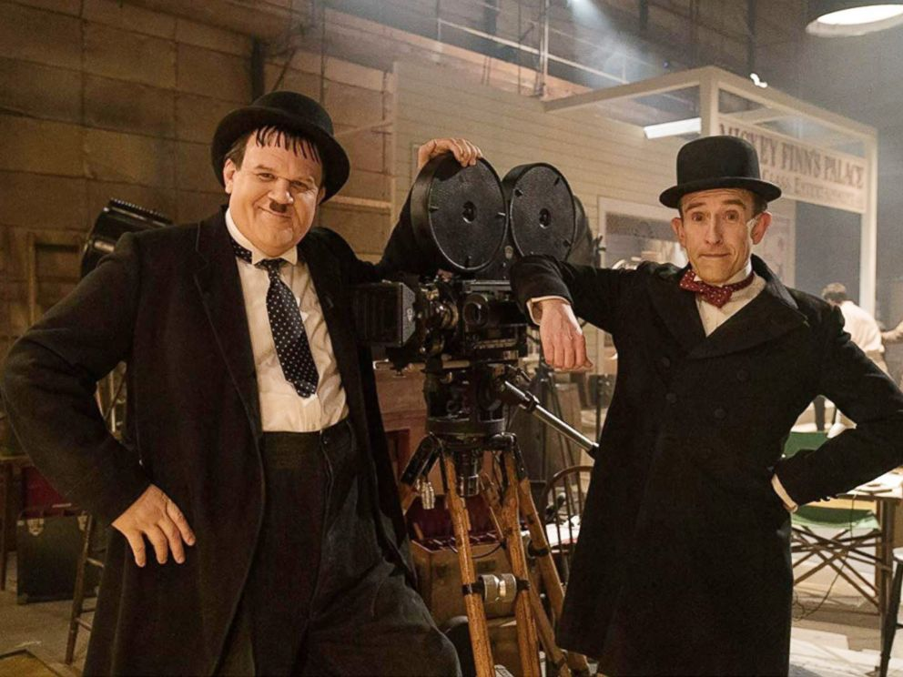 PHOTO: John C. Reilly and Steve Coogan in a scene from Stan & Ollie.