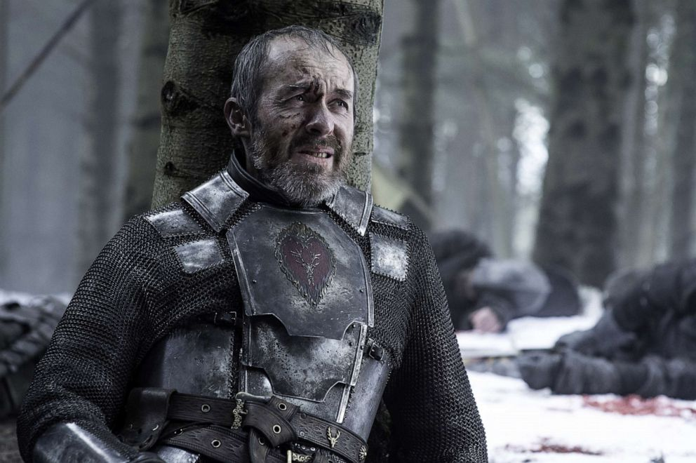 Stephen Dillane, Stannis Baratheon, in a scene from 'Game of Thrones.'
