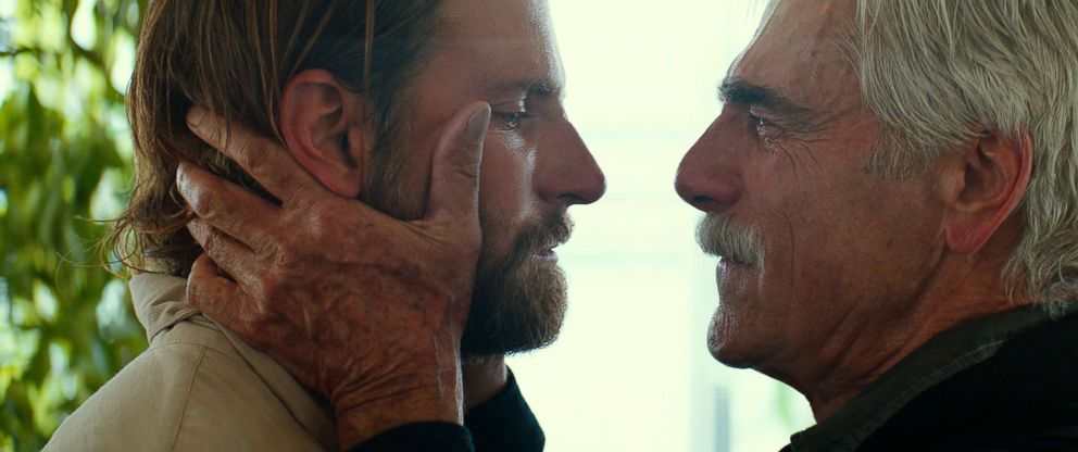 PHOTO: Bradley Cooper and Sam Elliot in A Star is Born, 2018.