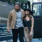 "Bradley Cooper, left, and Lady Gaga in a scene from ""A Star is Born."""