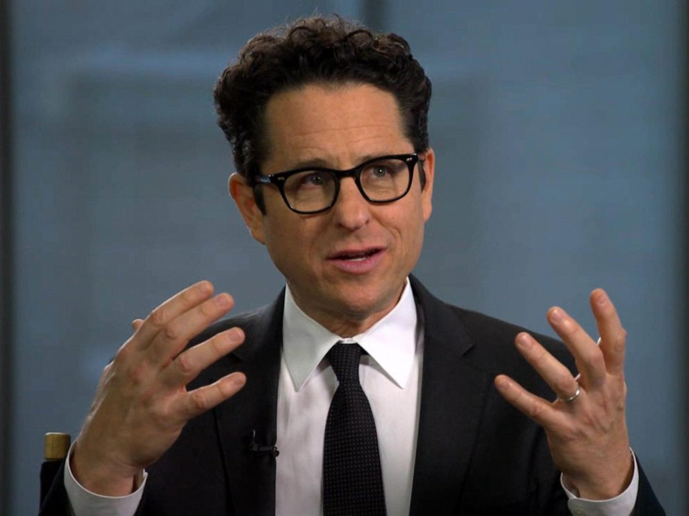 PHOTO: Director J.J. Abrams talks about Star Wars: The Rise of Skywalker on Good Morning America, April 15, 2019.