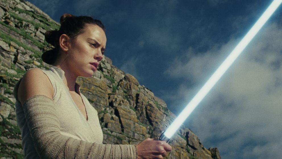 "Daisy Ridley stars in Lucasfilm's, ""Star Wars: The Last Jedi."""