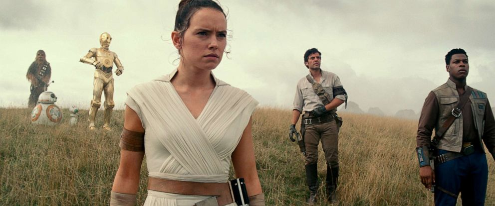 "PHOTO: Daisy Ridley as Rey in a scene from ""Star Wars: Episode IX."""