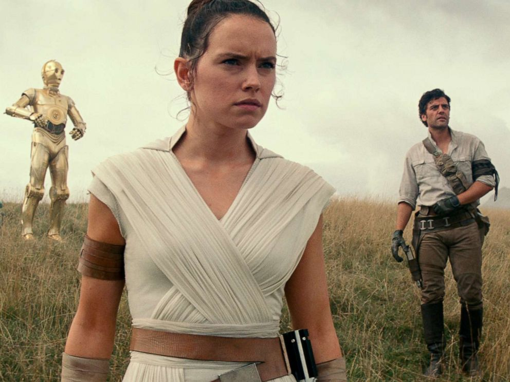 PHOTO: Daisy Ridley as Rey in a scene from Star Wars: Episode IX.