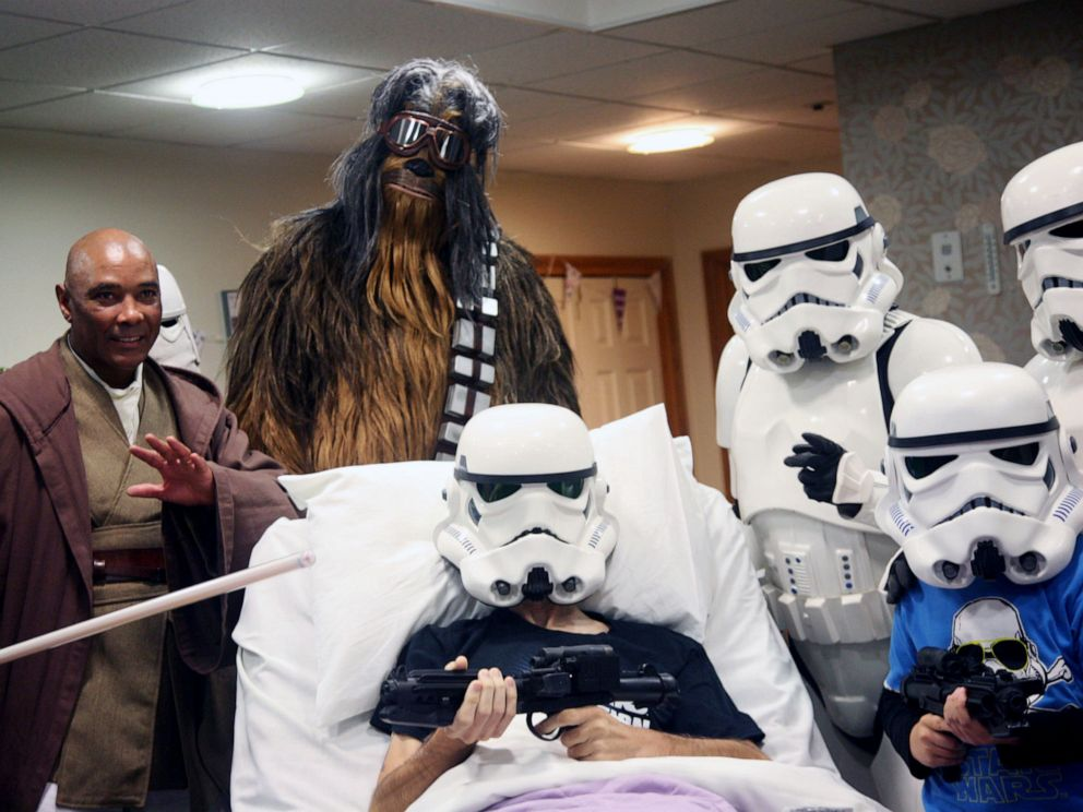 PHOTO: Disney allowed a Rowans Hospice patient and his son to watch Star Wars: The Rise of Skywalker before the official release date.