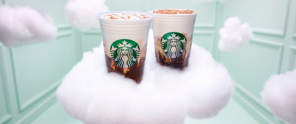 PHOTO: Starbucks is teaming up with Ariana Grande to introduce their new Cloud Macchiato.
