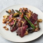 "Jamie Oliver's quick steak stir-fry from his new cookbook ""5 Ingredients Quick & Easy Food."""