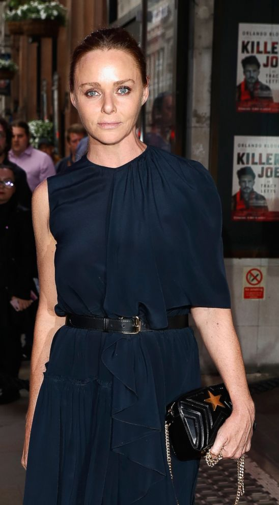 PHOTO: Stella McCartney attends the opening night of Killer Joe at Trafalgar Studios, June 4, 2018, in London.