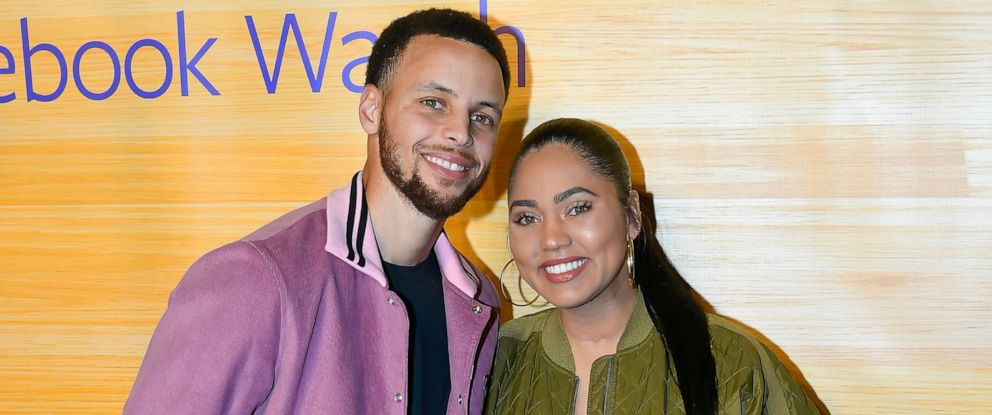 a484eae42a2 PHOTO  Stephen Curry of the Golden State Warriors and Ayesha Curry attend  the