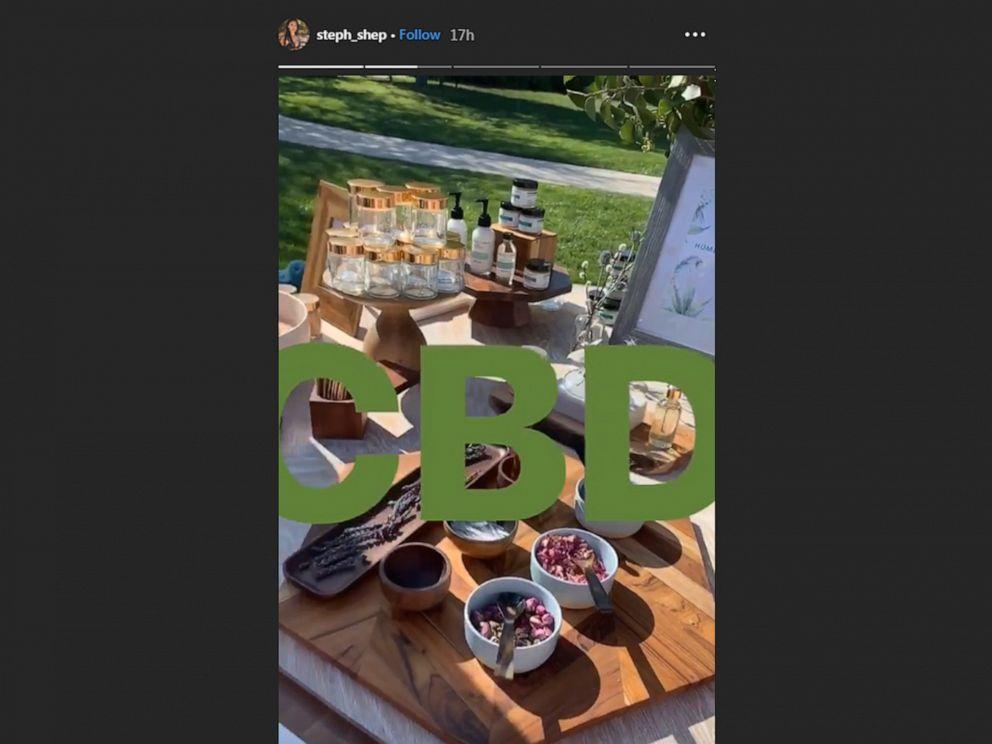 PHOTO: Stephanie Shepherd shared a sneak peek of Kim Kardashian Wests baby shower on Instagram, April 28, 2019.