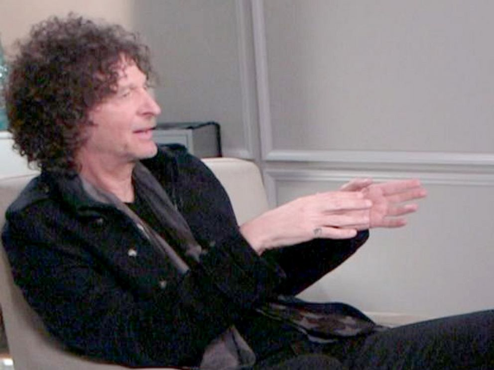 PHOTO: ABC News George Stephanopoulos interviews Howard Stern in an interview that aired on Good Morning America on May 13, 2019.