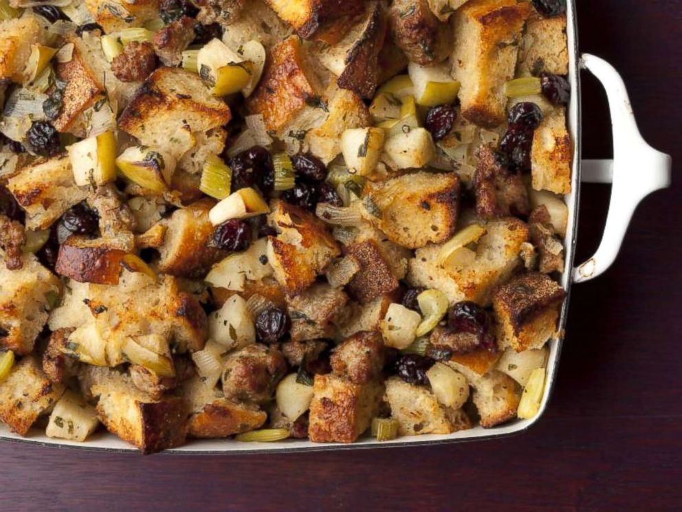 PHOTO: Sausage and Herb Stuffing from the Barefoot Contessa, Ina Garten.