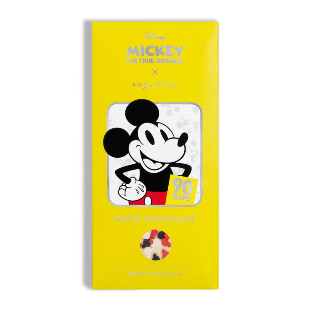 PHOTO: The special-edition collection offers an array of Mickey chocolates.