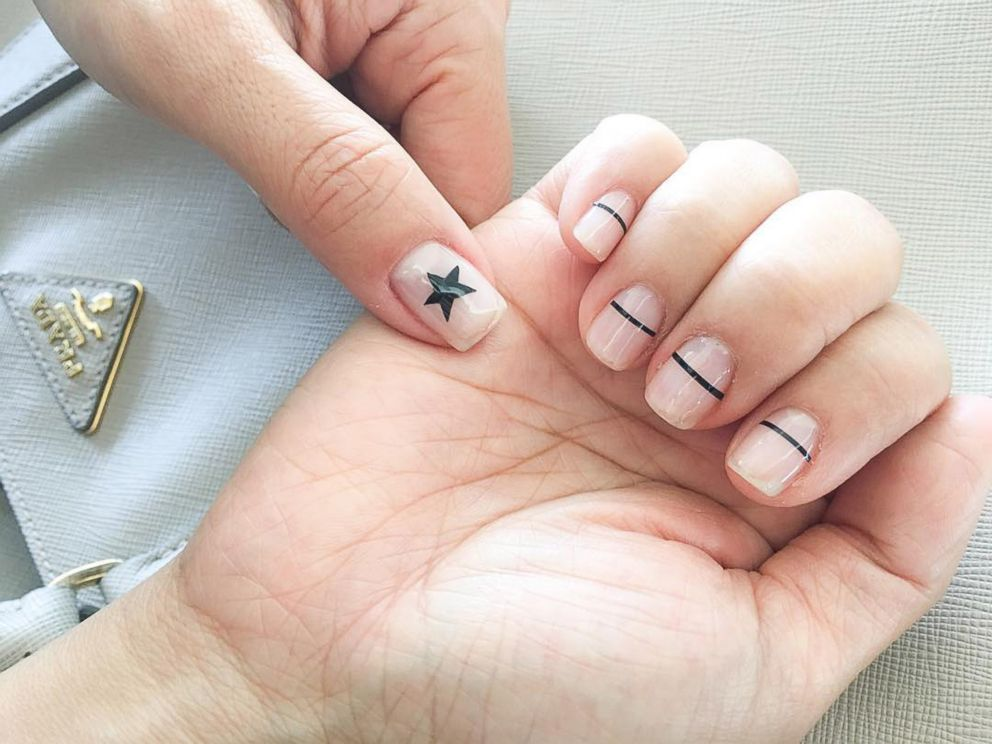 This genius manicure trend allows you to rock your natural side