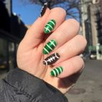 If you're looking to score your own touchdown this February 3rd try out these easy DIY Super Bowl nails.