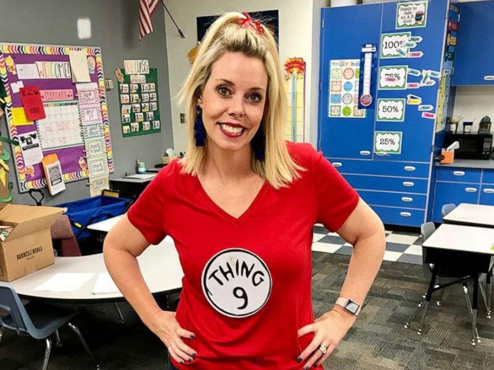PHOTO: Elisabeth Milich, an educator at Whispering Wind Academy in Phoenix, Arizona, received school supplies from Ben Adam of New York.