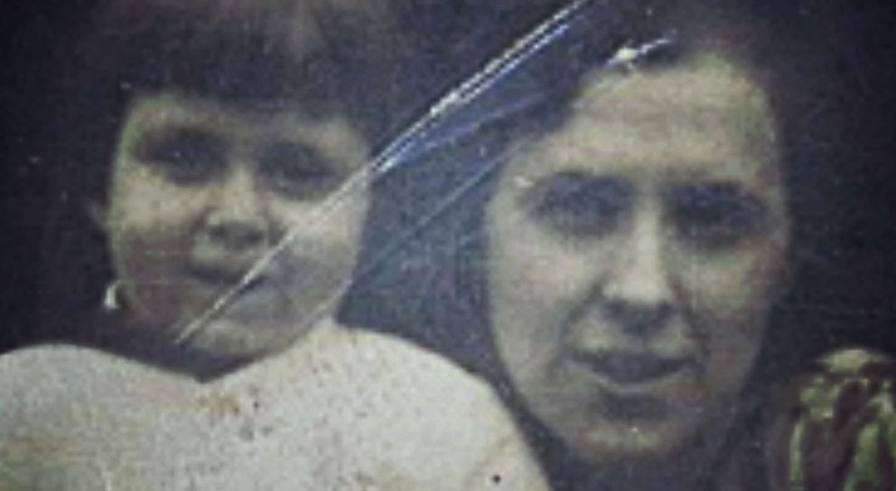 PHOTO: Charlotte and her mother before they were separated by Nazis who invaded Paris in 1940.