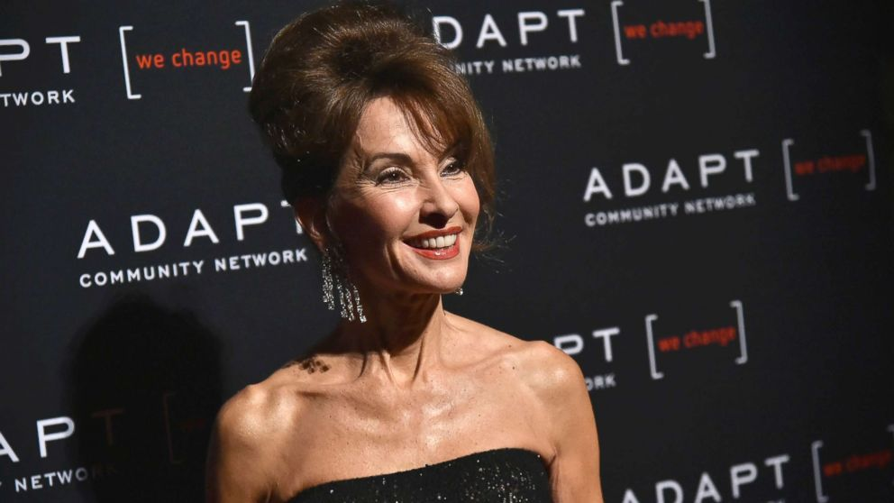 Susan Lucci attends the Adapt Leadership Awards gala 2018 at Cipriani 42nd Street, March 8, 2018, in New York City.