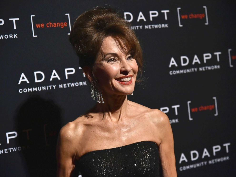PHOTO: Susan Lucci attends the Adapt Leadership Awards gala 2018 at Cipriani 42nd Street, March 8, 2018, in New York City.