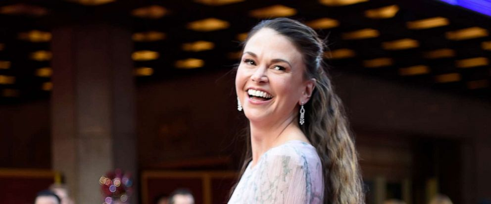 PHOTO: Sutton Foster on the red carpet at The 73rd Annual Tony Awards, June 9, 2019, at Radio City Music Hall in New York.