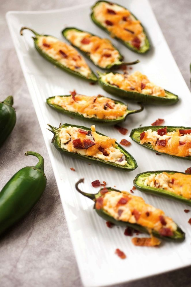 PHOTO: Suzanne Ryans bacon cheddar jalapeno poppers.