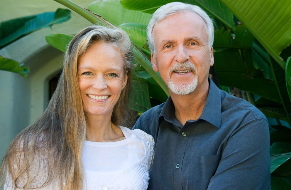 Suzy Amis Cameron and her husband James Cameron.
