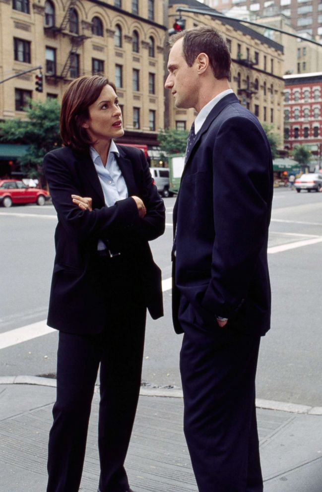 PHOTO: Mariska Hargitay as Detective Olivia Benson, Christopher Meloni as Detective Elliot Stabler on Law & Order: Special Victims Unit, 1999.