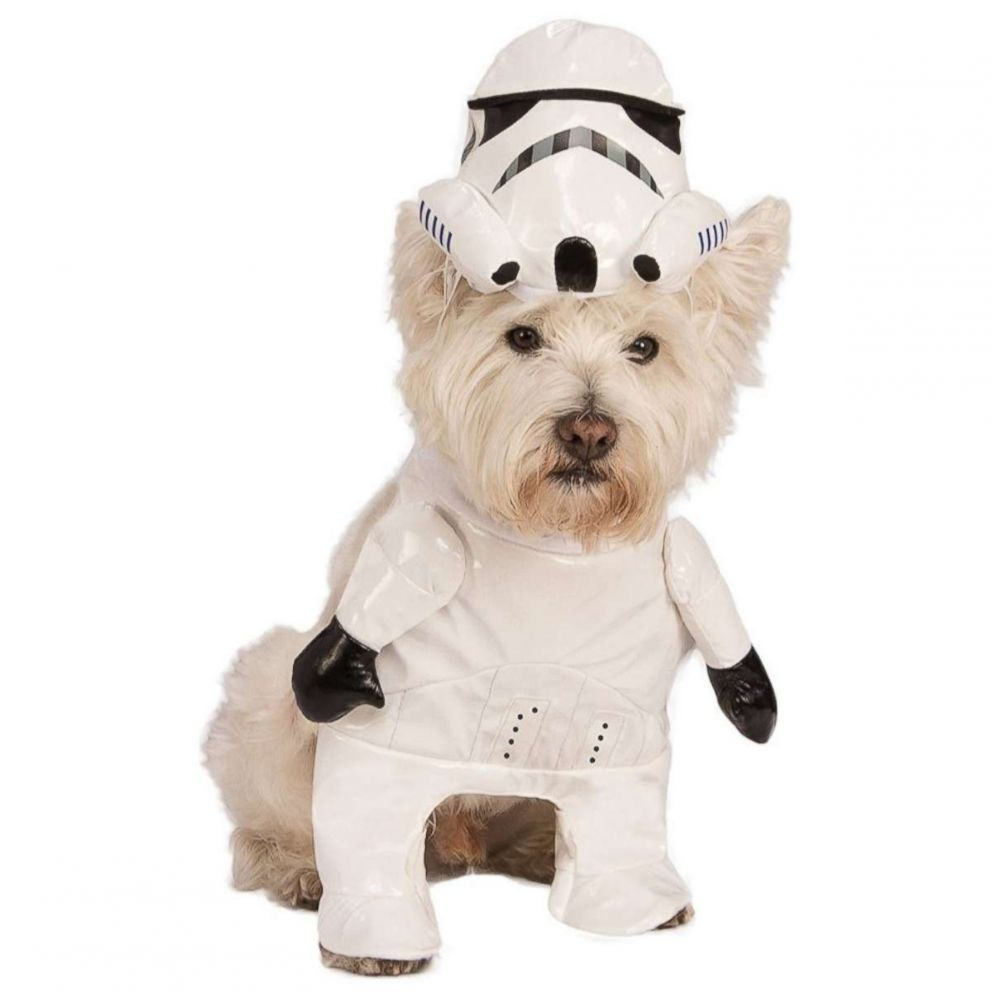 PHOTO: Star Wars Stormtrooper Pet Costume