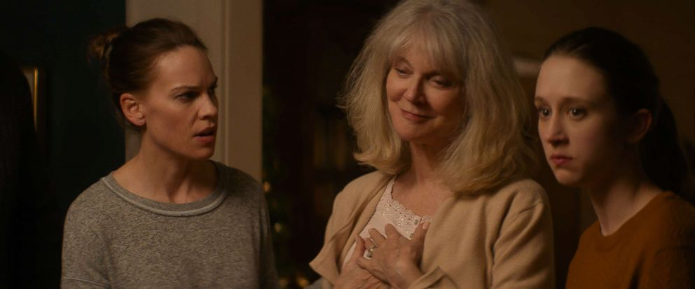 PHOTO: Hilary Swank, Blyth Danner and Taissa Farmiga star in What They Had.