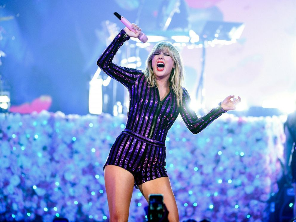 PHOTO: Singer Taylor Swift performs at Amazon Musics Prime Day concert at the Hammerstein Ballroom on Wednesday, July 10, 2019, in New York.