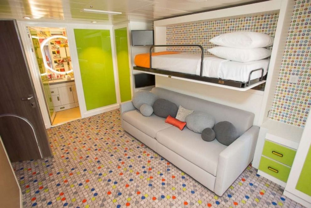 PHOTO: The Ultimate Family Suite includes a colorful bedroom for the kids.