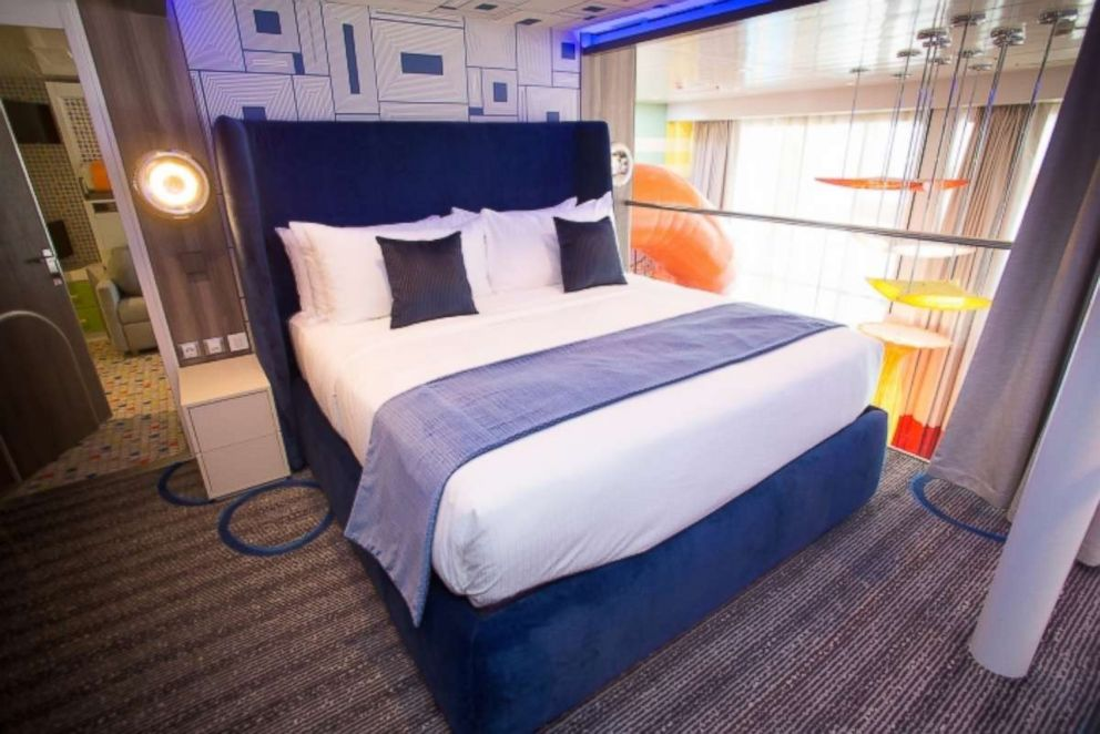 PHOTO: This bedroom in the Symphony of the Seas Ultimate Family Suite is perfect for me time on your family vacation.