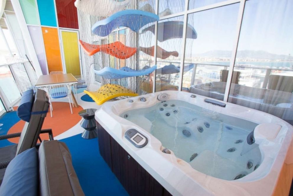 PHOTO: The Ultimate Family Suite has two floors of family fun, including a jacuzzi.