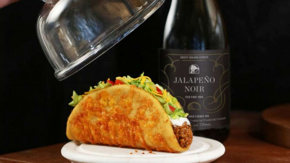 Taco Bell unveils new Jalapeno Noir wine to pair with aged-cheddar chalupa