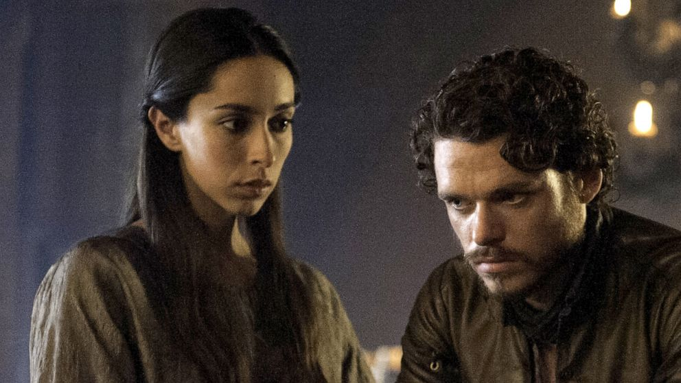 Actor Richard Madden shared the best 'Game of Thrones' throwback