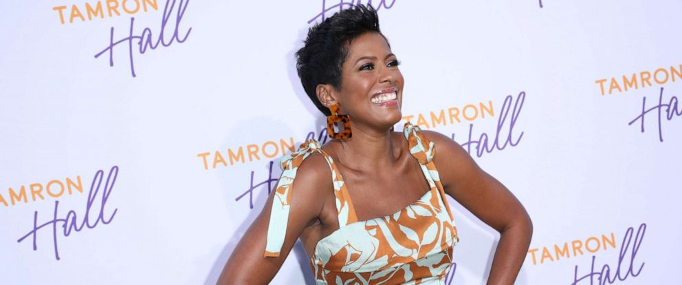 PHOTO:Tamron Hall arrives to Soho House in Beverly Hills for the ABC All-Star Party and Interview Opportunity, Aug. 5, 2019.