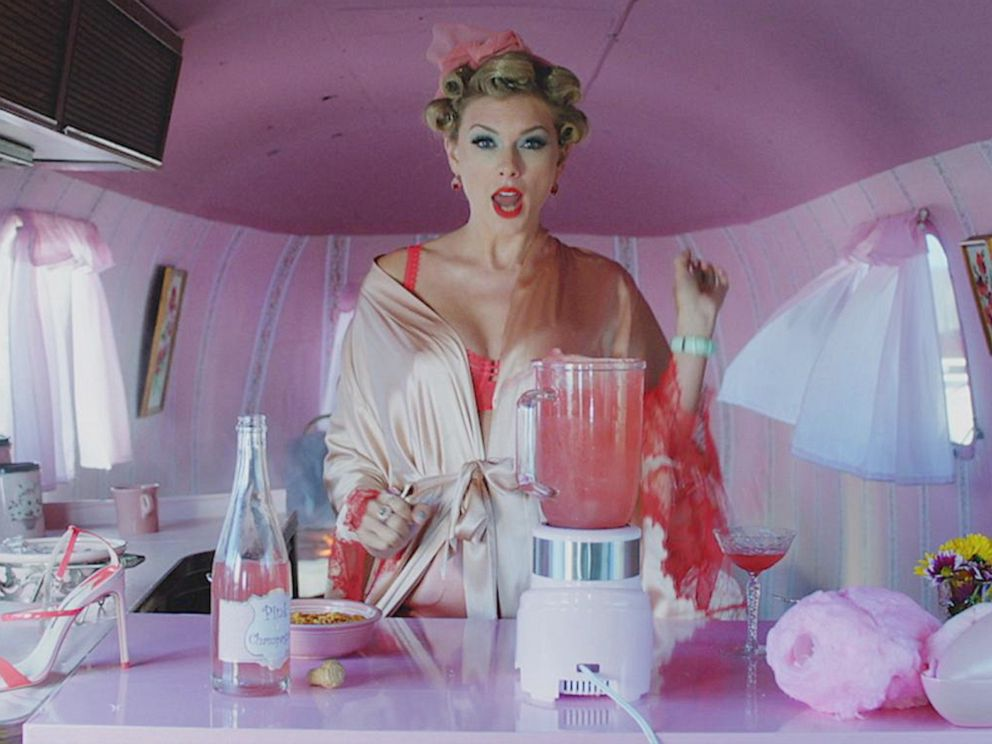 PHOTO: Taylor Swift appears in her new music video.