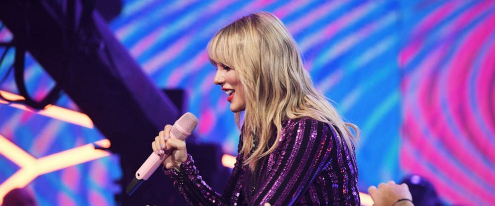 PHOTO: Taylor Swift performs onstage at The Prime Day concert, presented by Amazon Music on July 10, 2019, at Hammerstein Ballroom in New York.