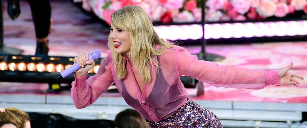 PHOTO: Taylor Swift performs as part of the Good Morning America Summer Concert Series, Rumsey Playfield in Central Park, New York, August 22, 2019.