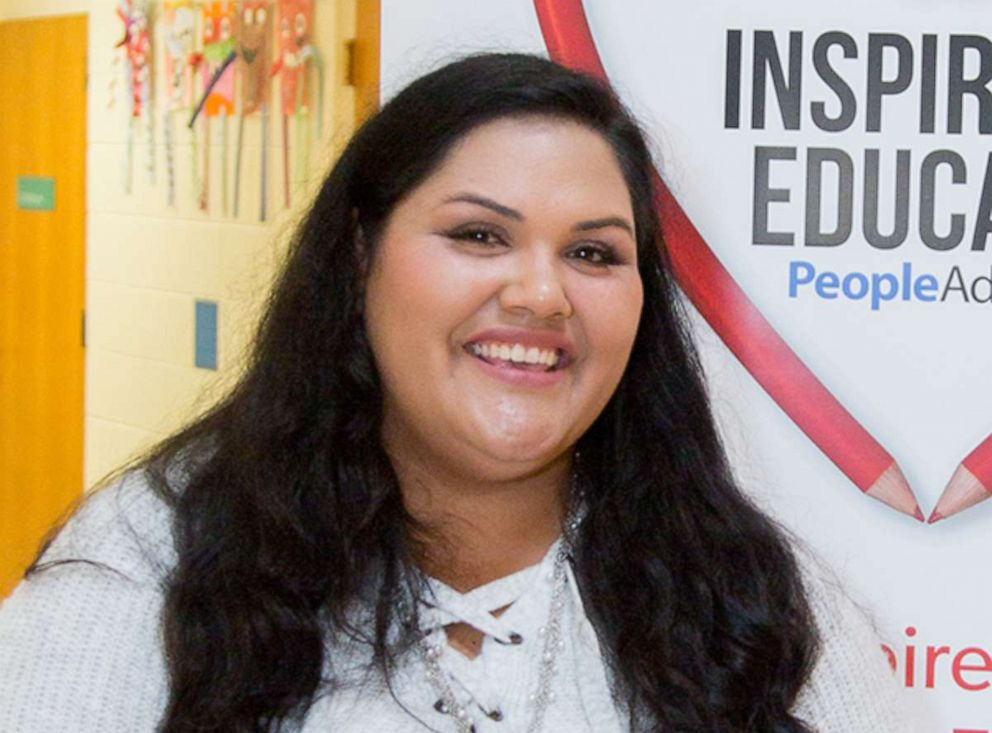 PHOTO: Teacher, Jami Witherall is a teacher in Massachusetts making a difference for students.
