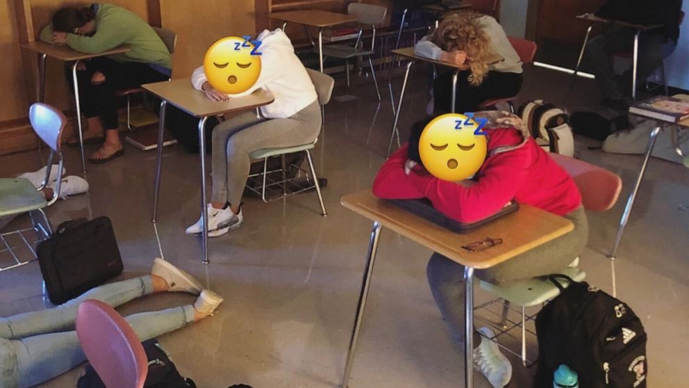 Why this high school teacher lets his students sleep in class