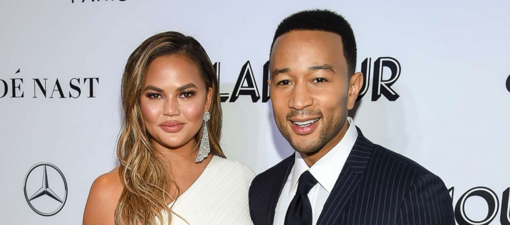 PHOTO: Chrissy Teigen and John Legend, attend the Glamour Women of the Year Awards, Nov. 12, 2018, in New York.